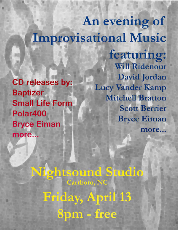 An Evening of Improvisational Music in Carrboro